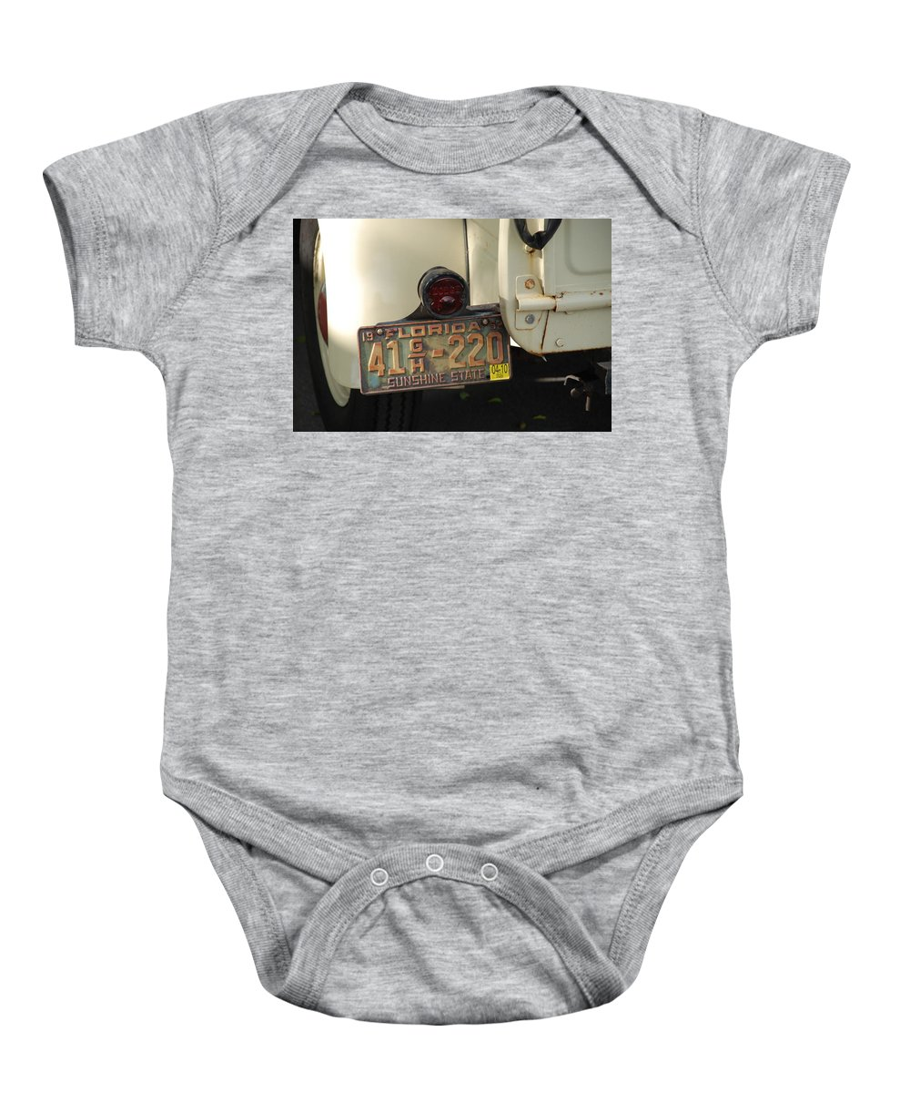 Truck Baby Onesie featuring the photograph Florida Dodge by Rob Hans