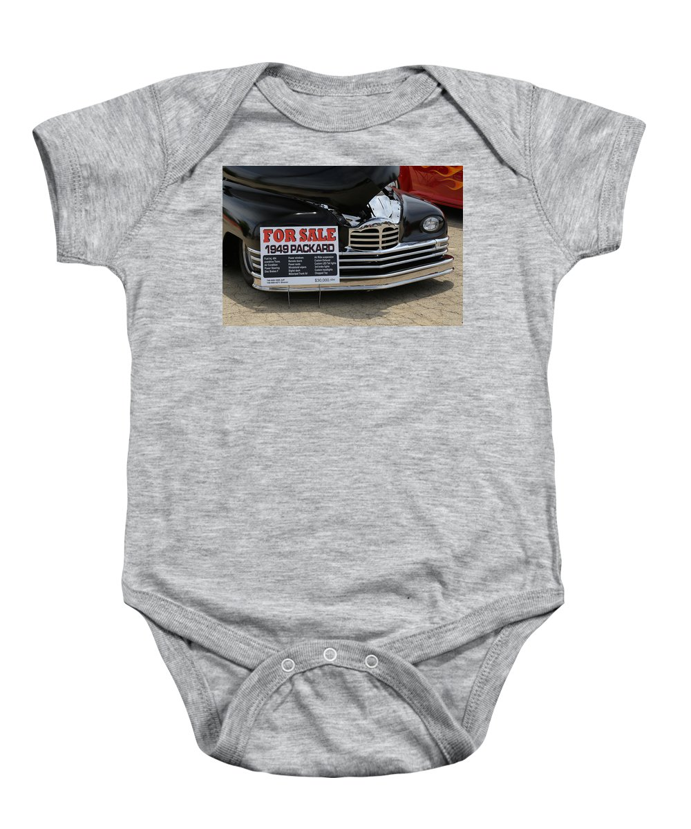 Digital Baby Onesie featuring the photograph For Sale by Jeff Roney