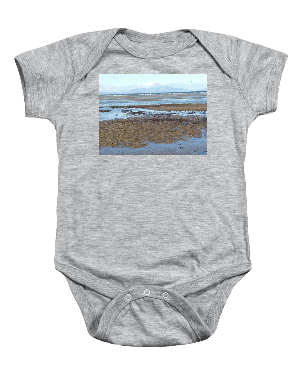 Sea Baby Onesie featuring the photograph Forgotten Dreams by Brian McKechnie