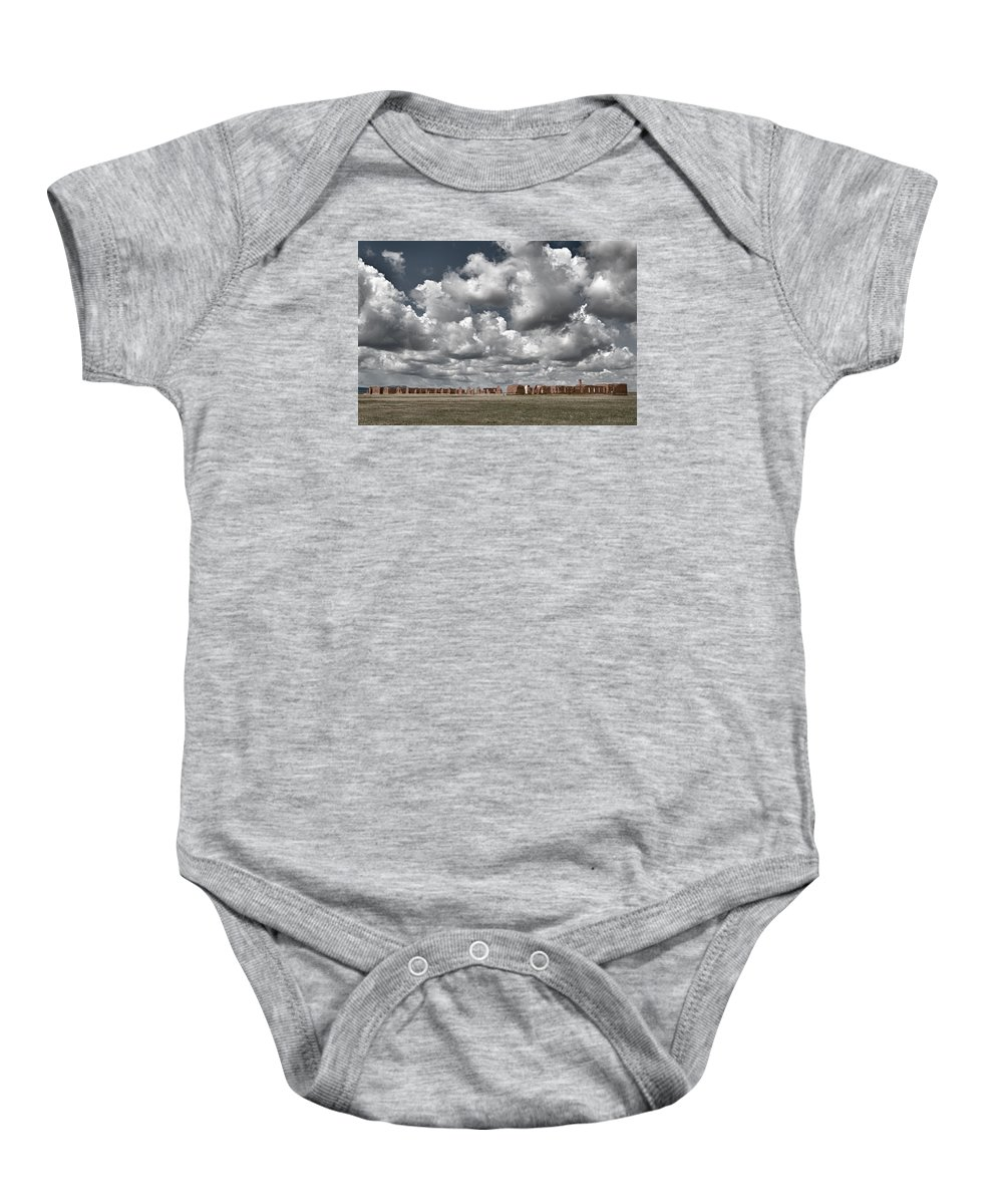 American Southwest Baby Onesie featuring the photograph Fort Union New Mexico by Alan Toepfer