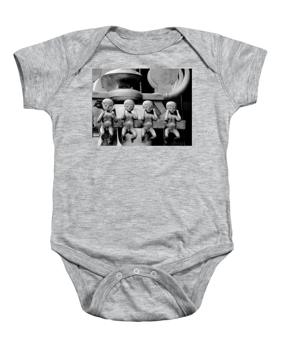 Four Baby Onesie featuring the photograph Four For Vienna by Ian MacDonald