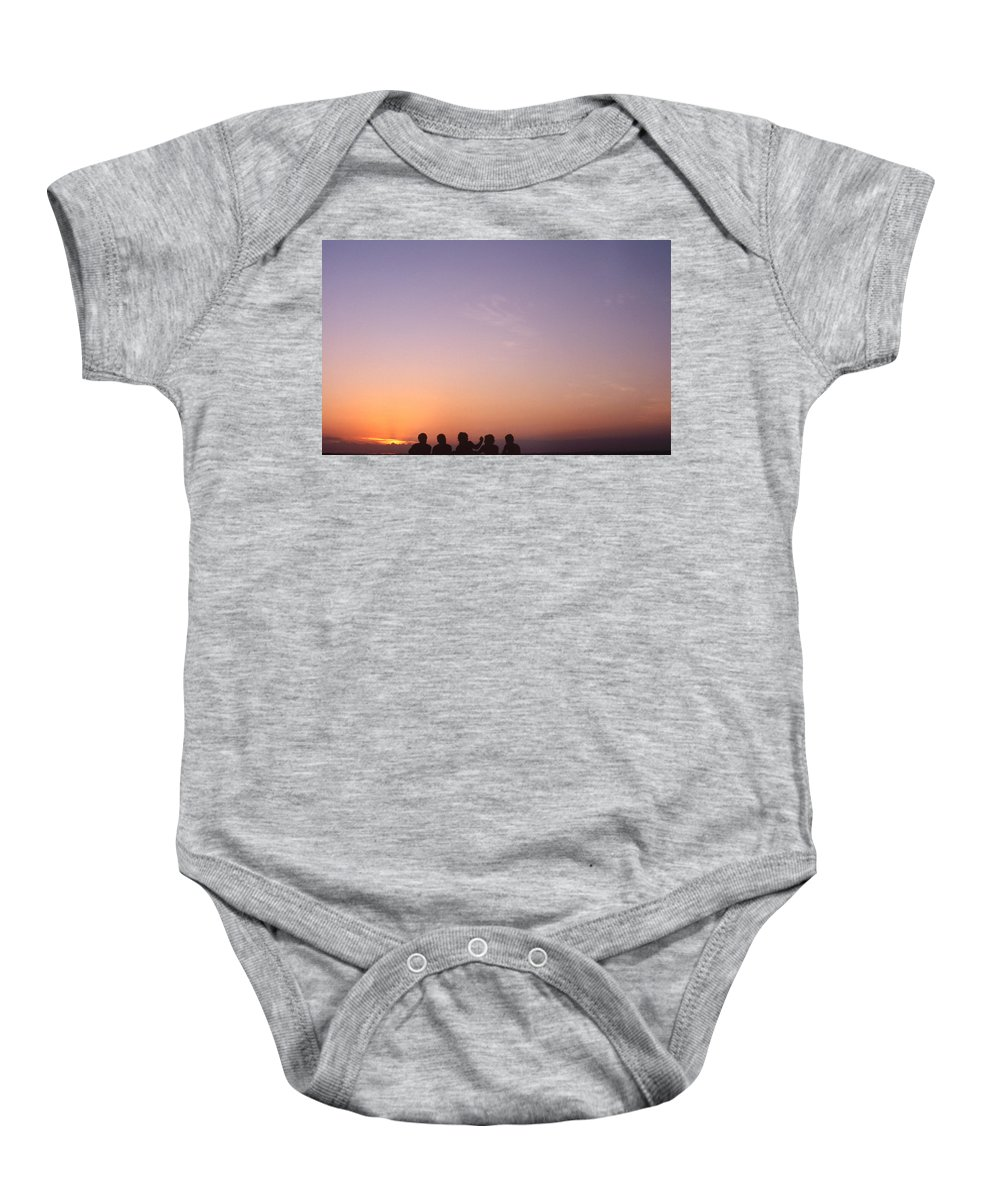 Bahia Baby Onesie featuring the photograph Friends by Patrick Klauss