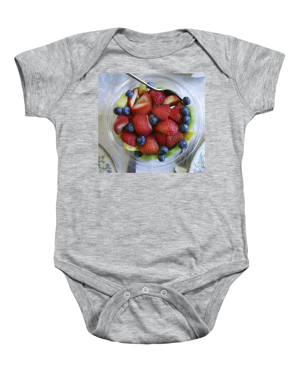 Food Baby Onesie featuring the photograph Fruit Salad by Yuri Lev