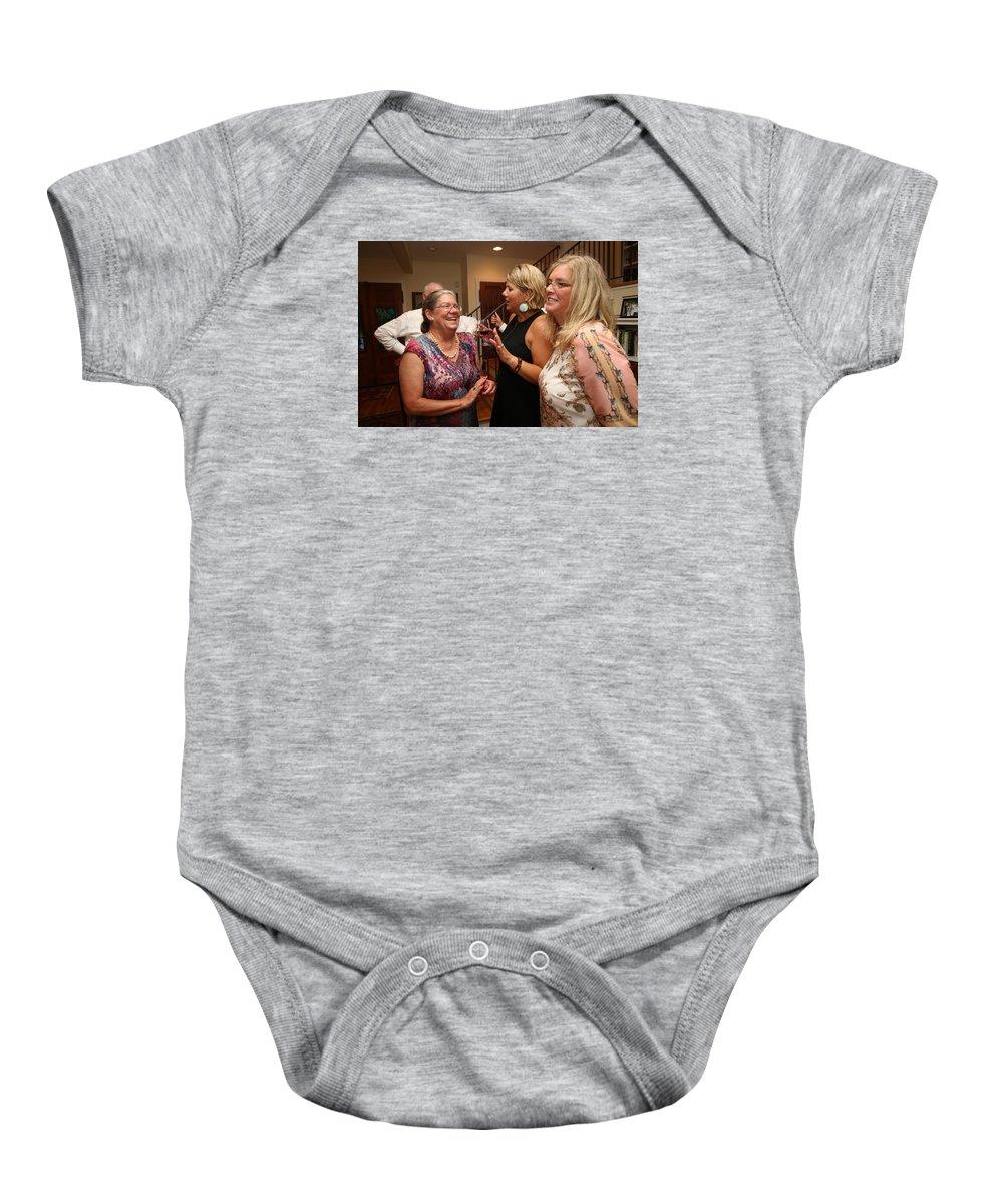 Garrett Baby Onesie featuring the photograph Garrett-374 by Stephanie Klein-Davis