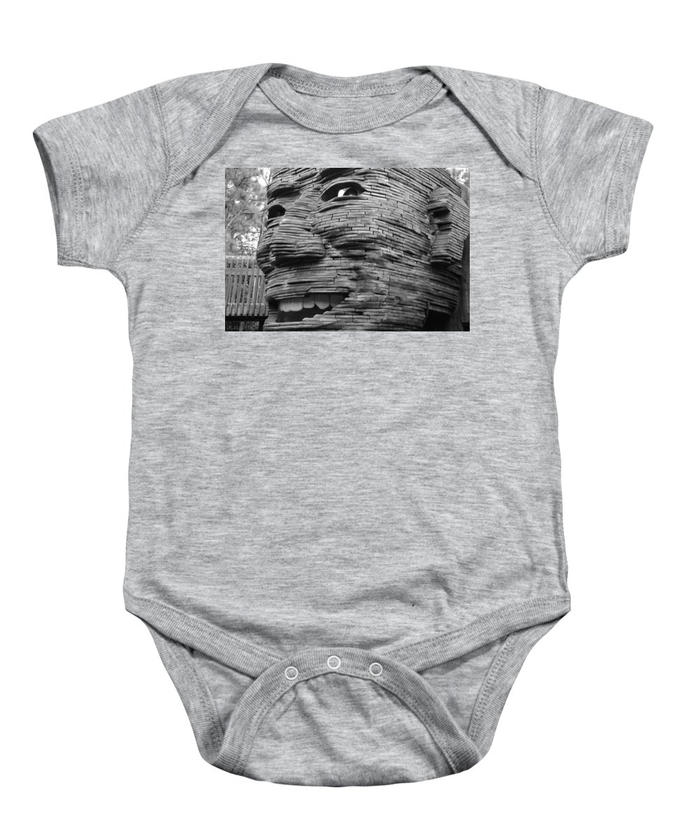 Architecture Baby Onesie featuring the photograph Gentle Giant by Rob Hans