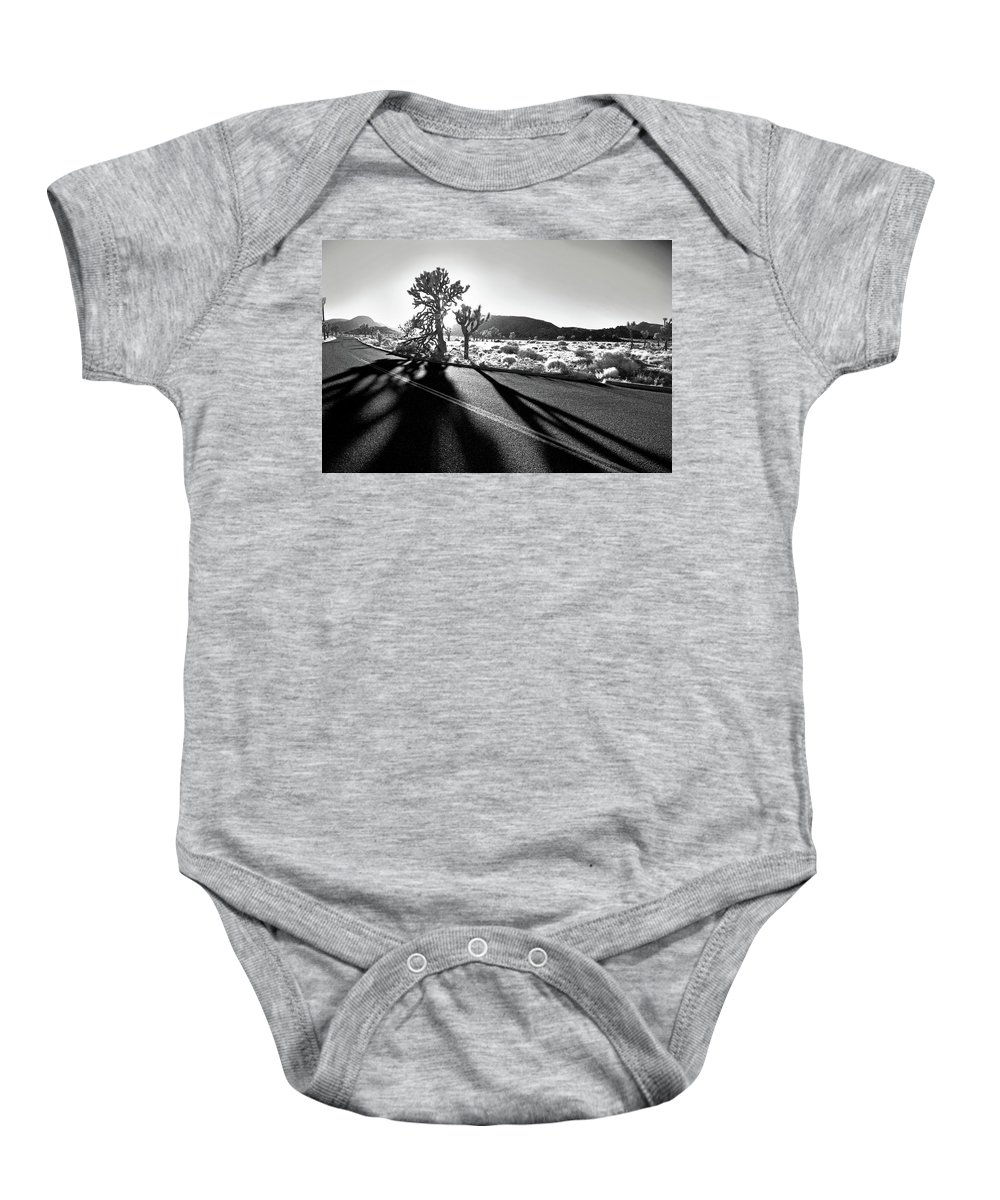 Joshua Tree Baby Onesie featuring the photograph Ghouls by Laurie Search