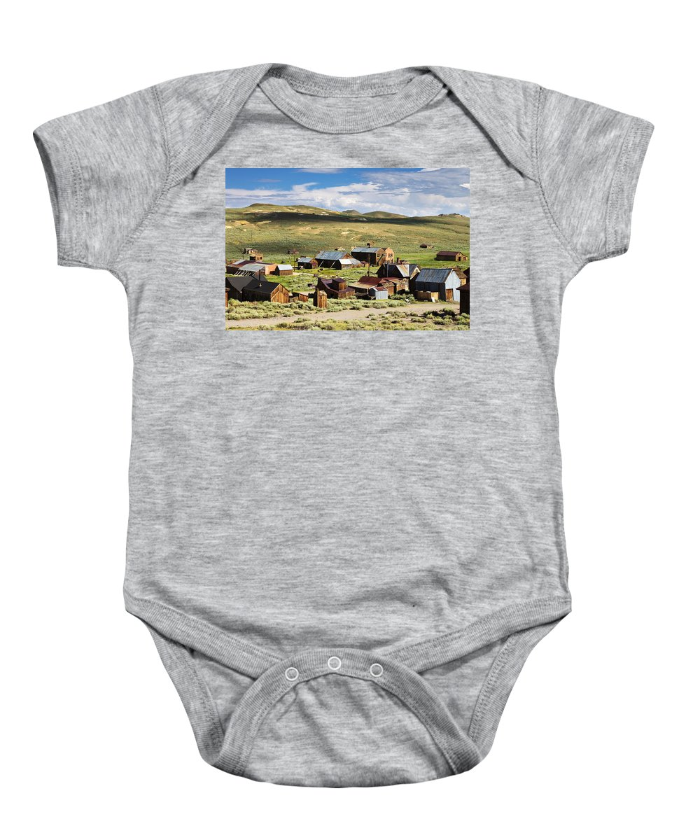 Bodie Baby Onesie featuring the photograph Glory Days II by Ricky Barnard