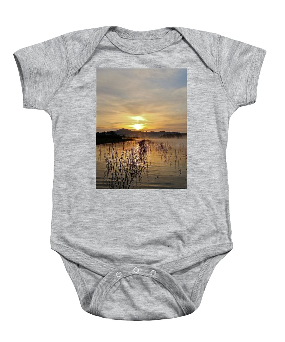 Water Baby Onesie featuring the photograph Good Morning  God by Diana Hatcher