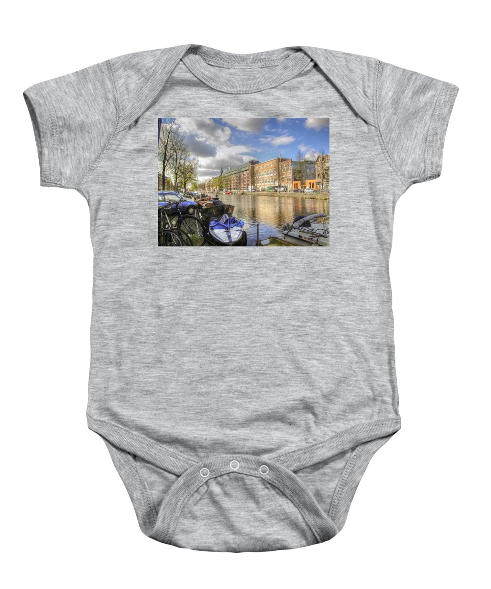 Amsterdam Baby Onesie featuring the photograph Good Morning Amsterdam by Dolly Sanchez
