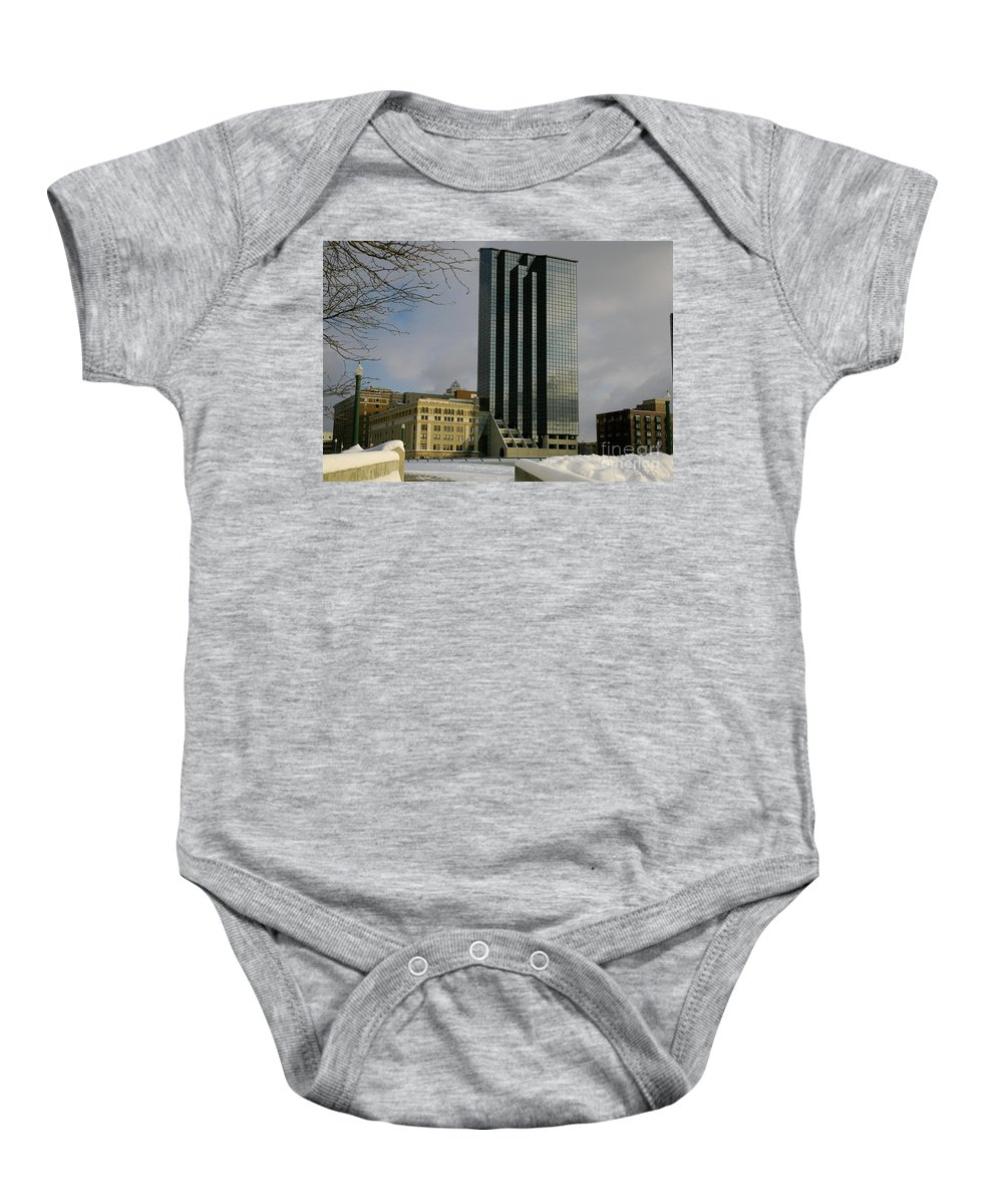 Land Scape Grand Hotel City Baby Onesie featuring the photograph Grand Rapids Mi-4 by Robert Pearson