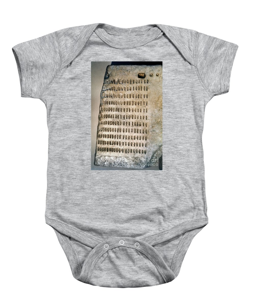 5th Century B.c. Baby Onesie featuring the photograph Greece: Jury Duty by Granger