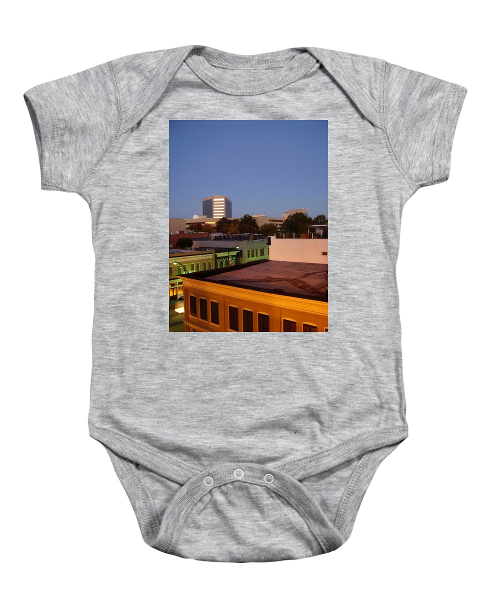 Greenville Baby Onesie featuring the photograph Greenville by Flavia Westerwelle