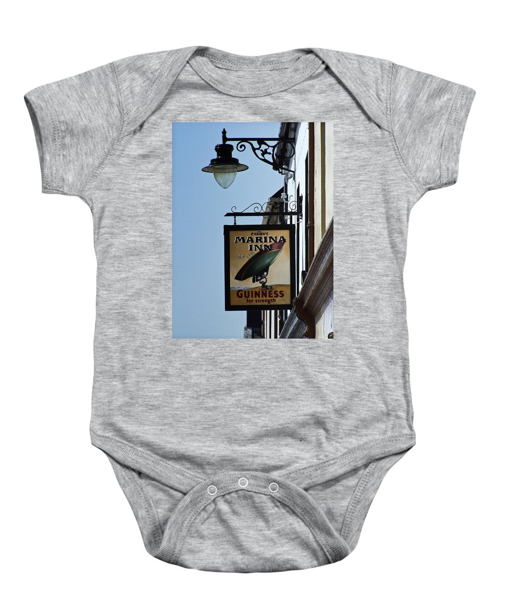 Irish Baby Onesie featuring the photograph Guinness For Strength Dingle Ireland by Teresa Mucha