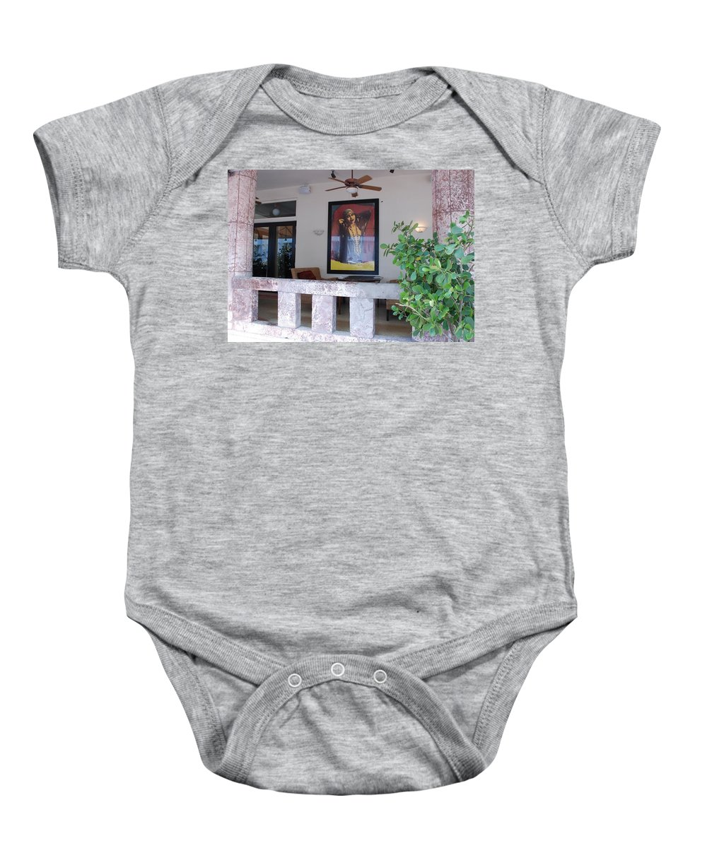 Art Baby Onesie featuring the photograph Gypsy Lady by Rob Hans