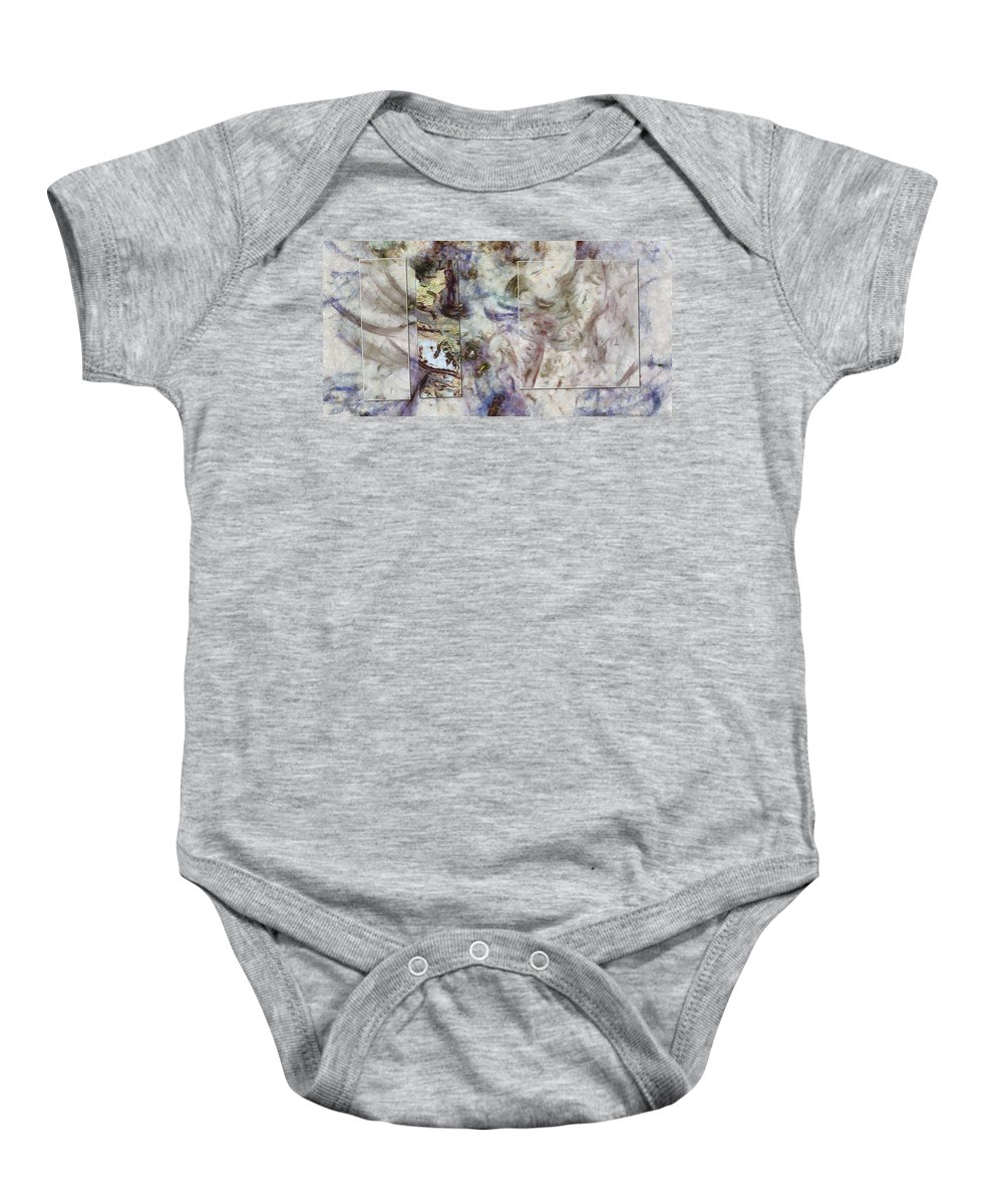 Theoretical Baby Onesie featuring the painting Hackthorn Fancy Id 16099-082433-97661 by S Lurk