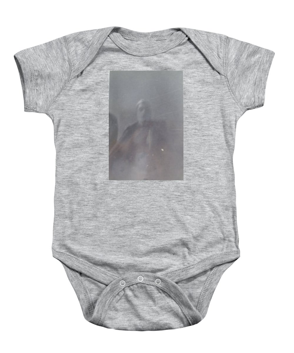 Halloween B&w All Hallows' Eve 31 Oct Baby Onesie featuring the photograph Halloween 2 by William Douglas