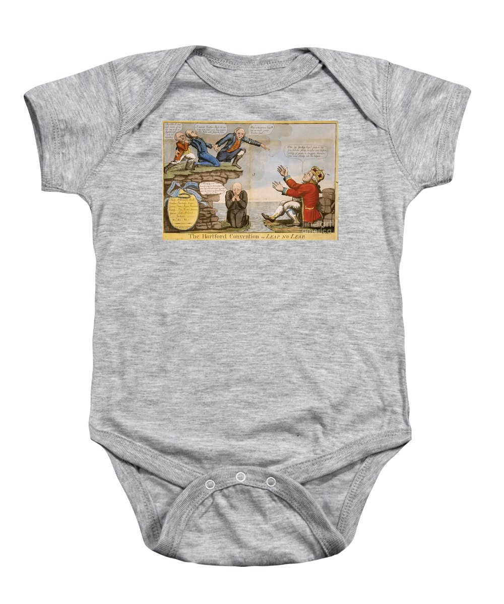 1814 Baby Onesie featuring the photograph Hartford Convention, C1814 by Granger