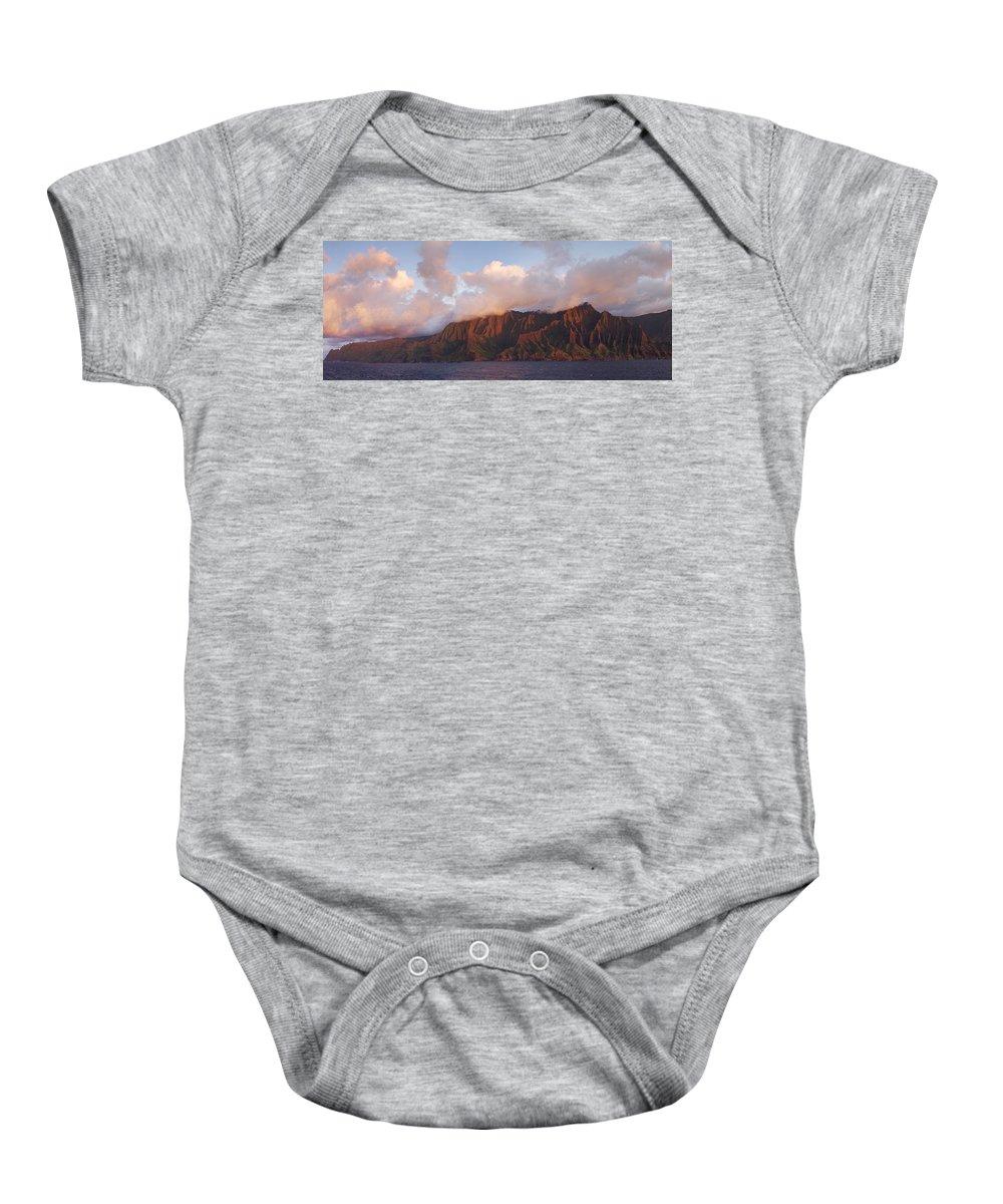 Hawaii Baby Onesie featuring the photograph Hawaii by Heather Coen