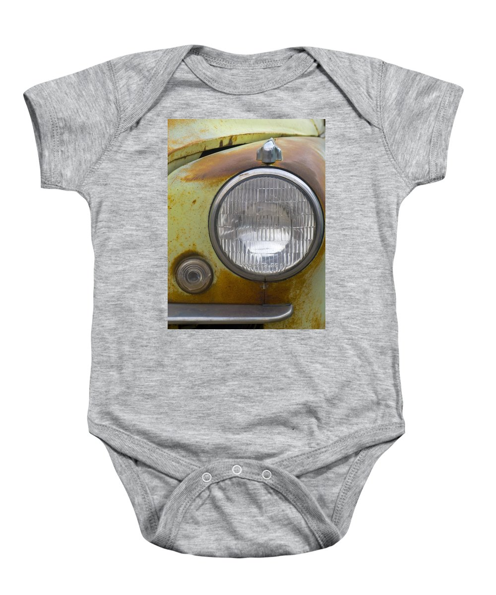 Vintage Baby Onesie featuring the photograph Head Light by Jeffery Ball