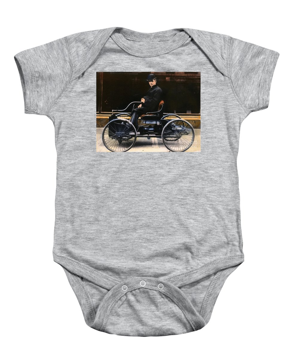 1896 Baby Onesie featuring the photograph Henry Ford, 1863-1947 by Granger