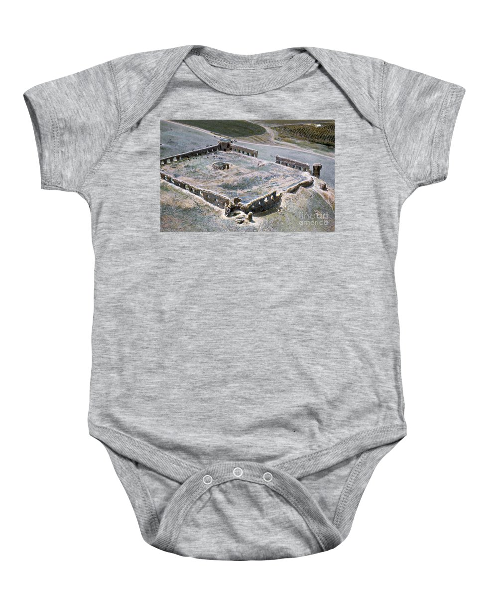1950s Baby Onesie featuring the photograph Holy Land: Caravansary by Granger