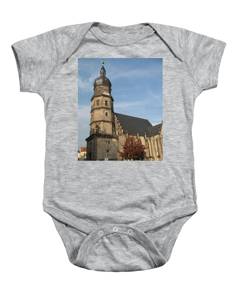 Church Baby Onesie featuring the photograph House Of God by Christiane Schulze Art And Photography