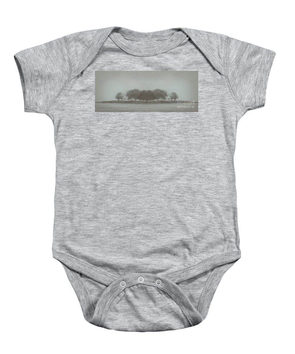Landscape Baby Onesie featuring the photograph I Will Walk You Home by Dana DiPasquale