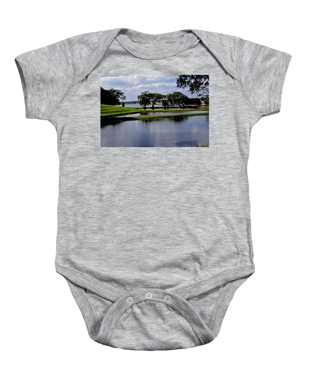 Lake Baby Onesie featuring the photograph Charleston South Carolina by Gary Wonning
