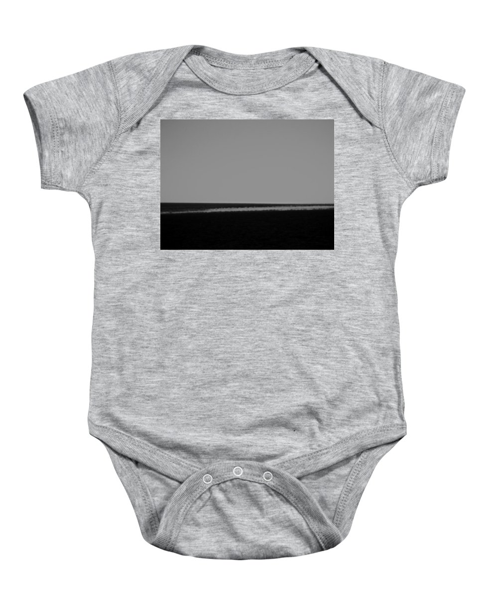 Argentina Baby Onesie featuring the photograph Imagining A Beach by Osvaldo Hamer