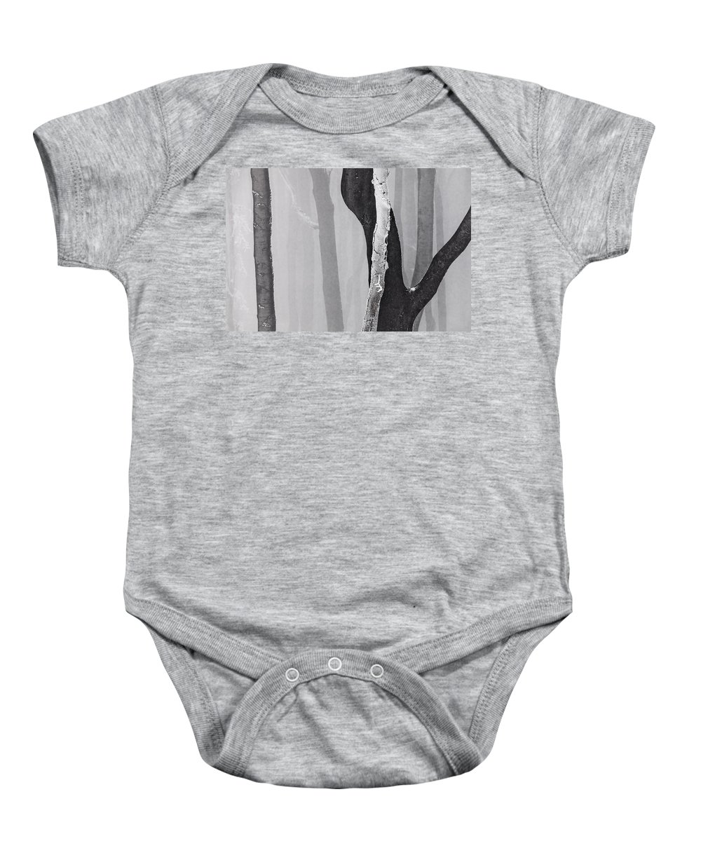 Mountain Baby Onesie featuring the photograph In Love by Evgeni Dinev