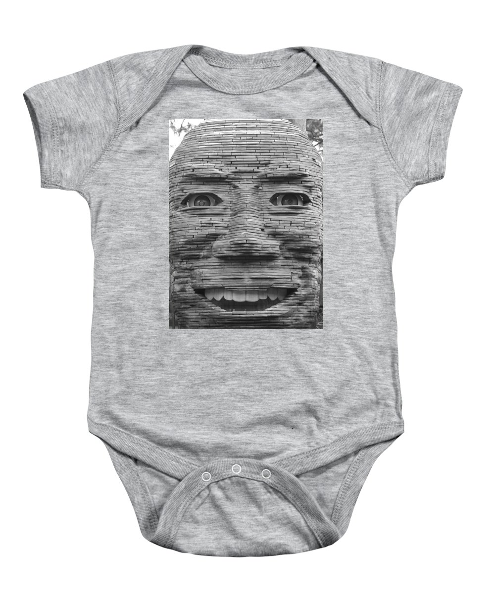 Architecture Baby Onesie featuring the photograph In Your Face by Rob Hans