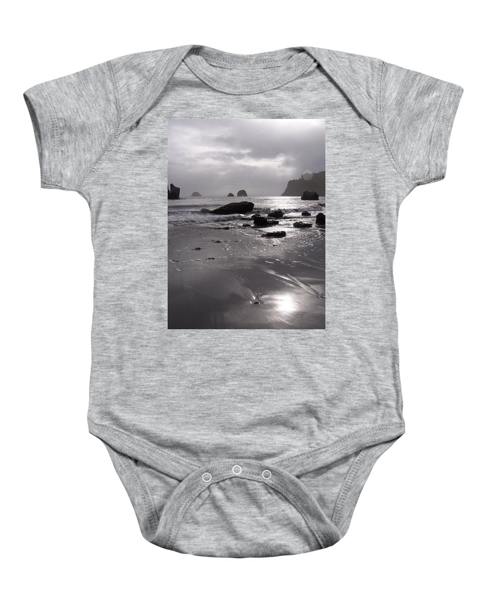 Beach Baby Onesie featuring the photograph Indian Beach by Gale Cochran-Smith
