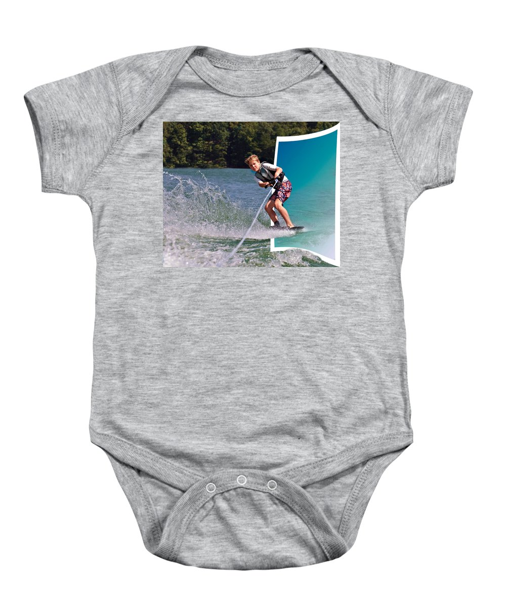 Active Baby Onesie featuring the photograph Into The Frame by Susan Leggett