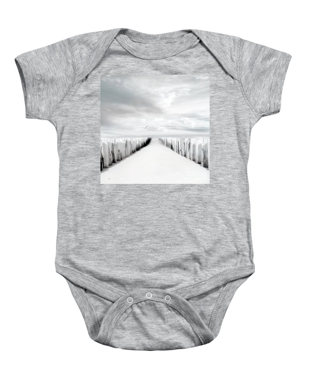 Beach Baby Onesie featuring the photograph Inviting by Jacky Gerritsen