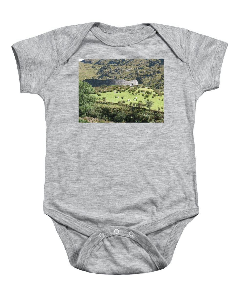 Ireland Baby Onesie featuring the photograph Ireland by Kelly Mezzapelle