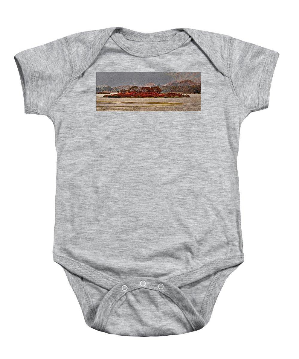 Island Baby Onesie featuring the photograph Island by Galeria Trompiz