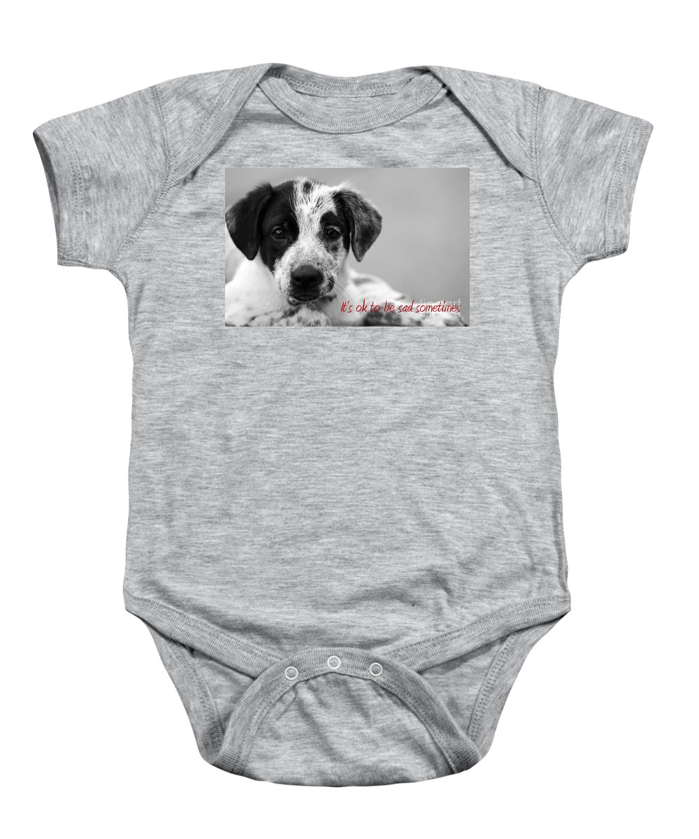 posters For Kids Baby Onesie featuring the photograph It by Amanda Barcon
