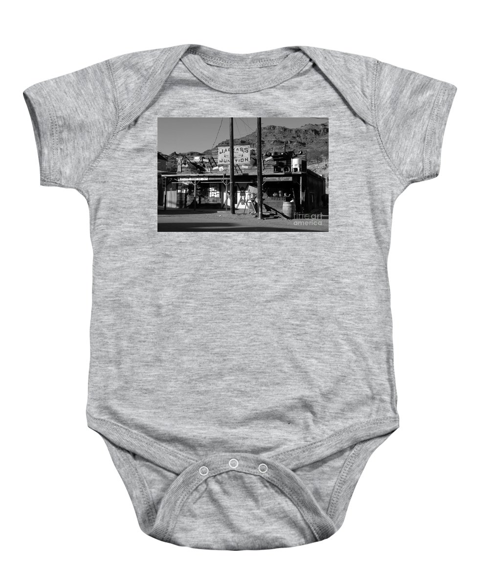 Arizona Baby Onesie featuring the photograph Jackass Junction by David Lee Thompson