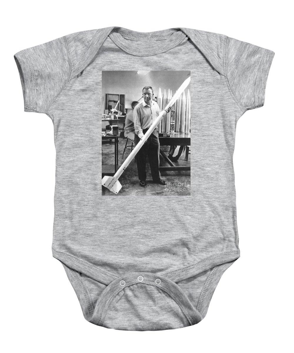 20th Century Baby Onesie featuring the photograph James Van Allen (1914-2006) by Granger