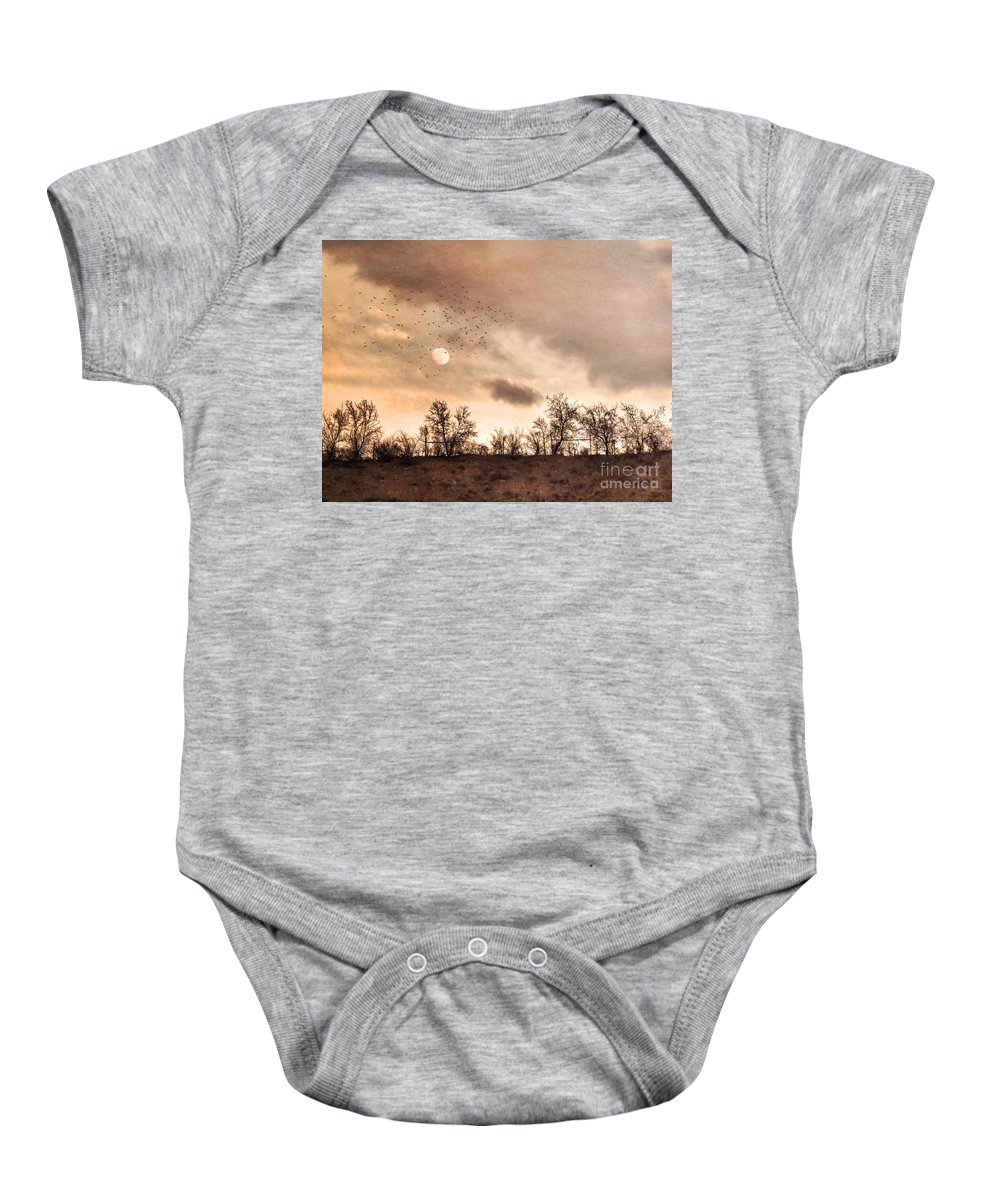 Moon Baby Onesie featuring the photograph January 27 2010 Part 2 by Tara Turner