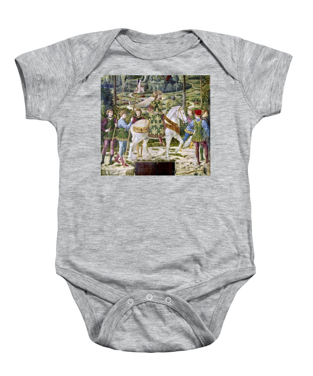 1460 Baby Onesie featuring the photograph John Viii Paleologus by Granger