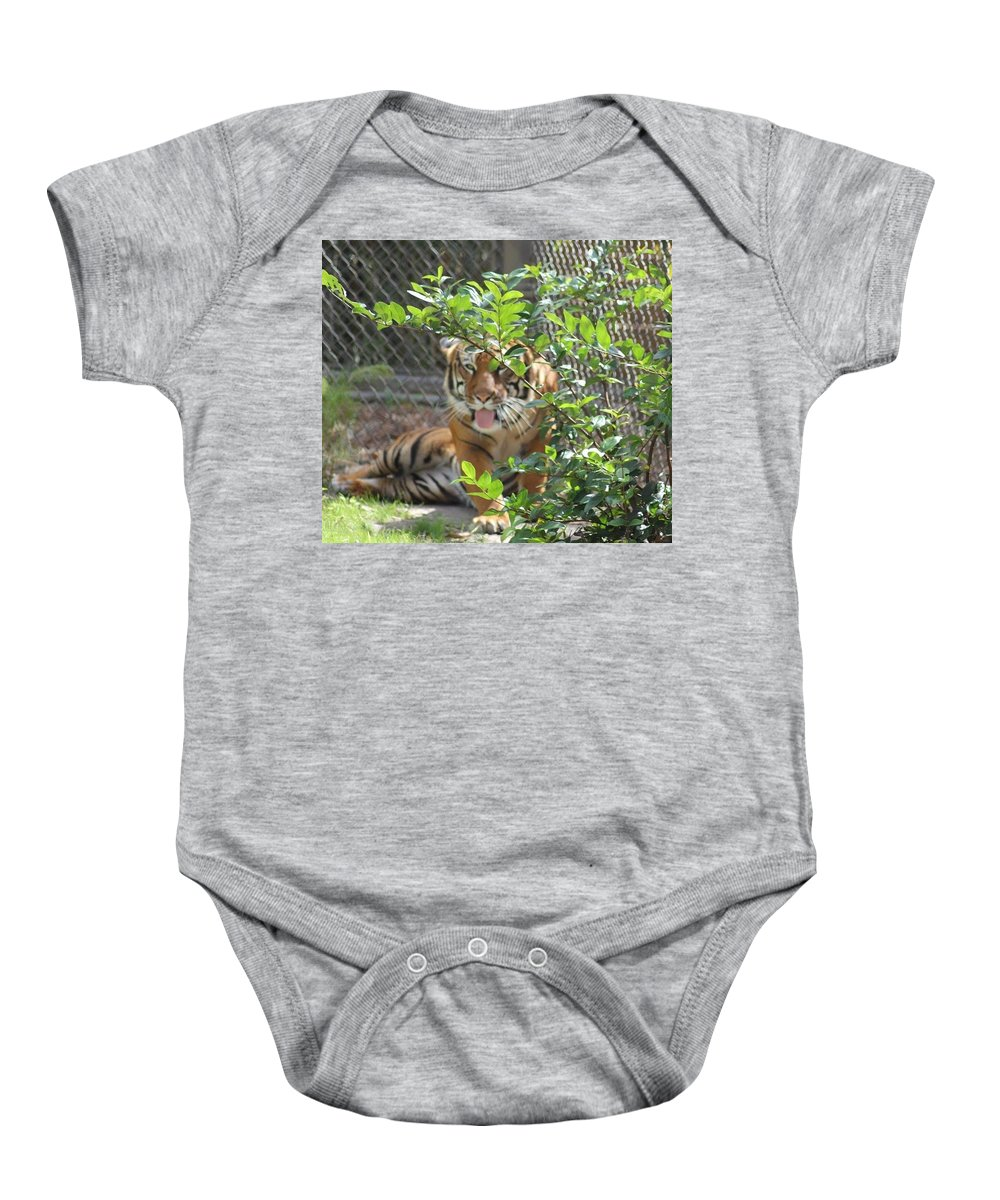 Nature Baby Onesie featuring the photograph Just Waking Up by Norma Jean Lipert