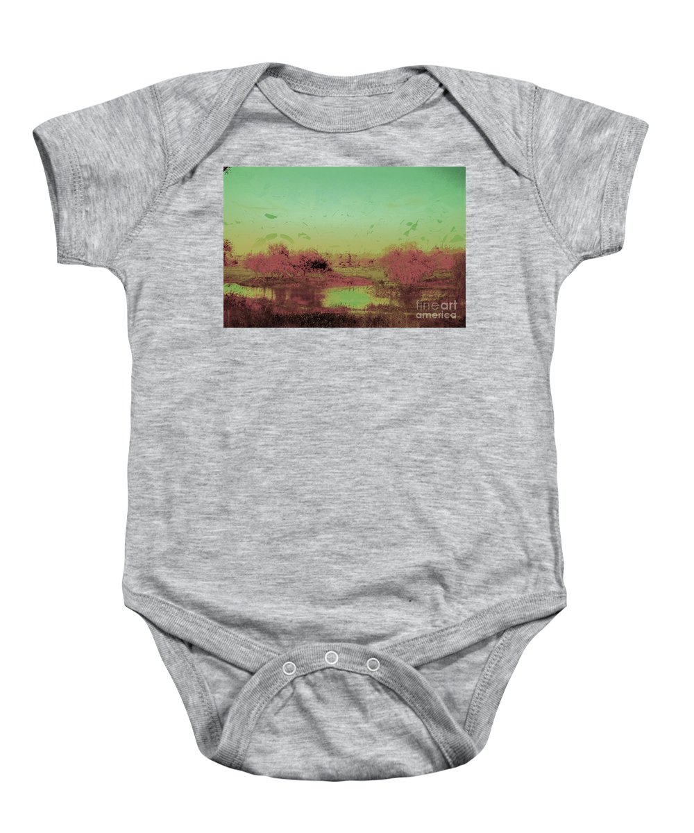 Trees Baby Onesie featuring the photograph Kings Grant by Donna Bentley