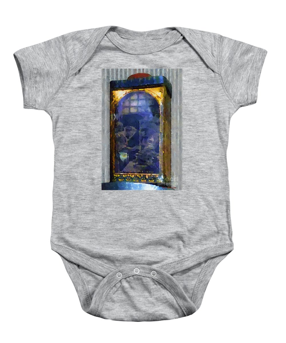 Advertising Baby Onesie featuring the painting Kitchen Alchemy by RC DeWinter