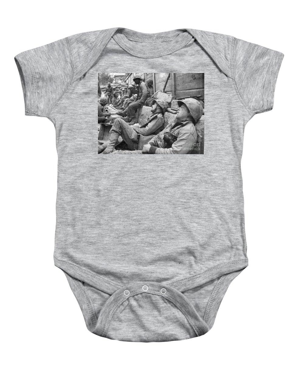 1950 Baby Onesie featuring the photograph Korean War: U.n. Troops by Granger
