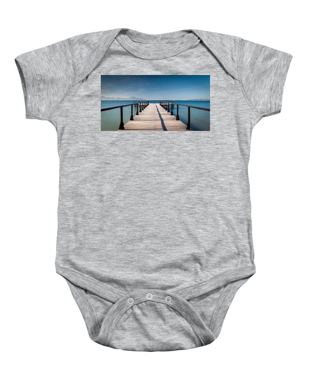 Kos Baby Onesie featuring the photograph Kos Vi by Agis Fere