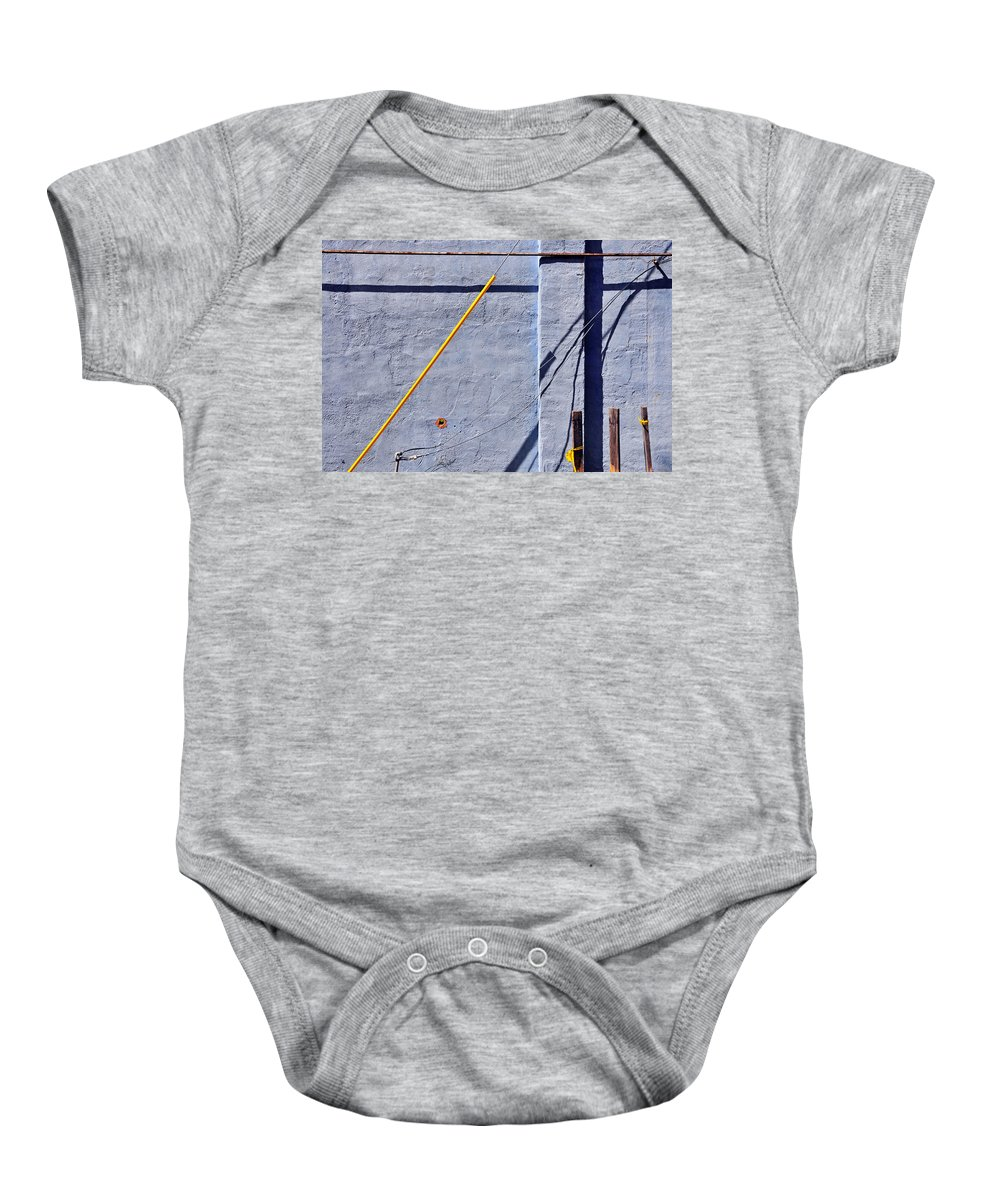 Skip Hunt Baby Onesie featuring the photograph Krishna Blue by Skip Hunt