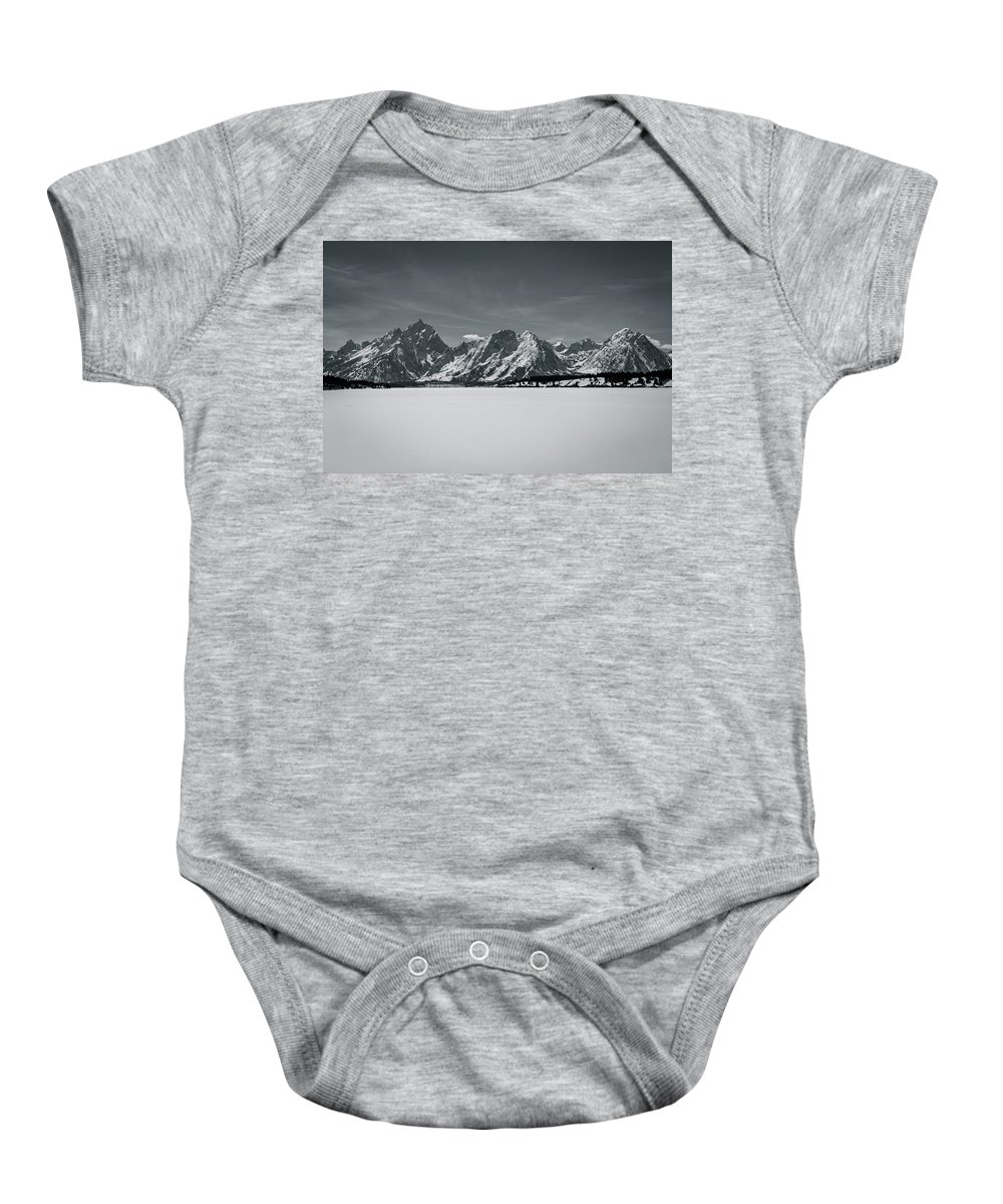 Jackson Baby Onesie featuring the photograph Landscape Contrast by John Duffy