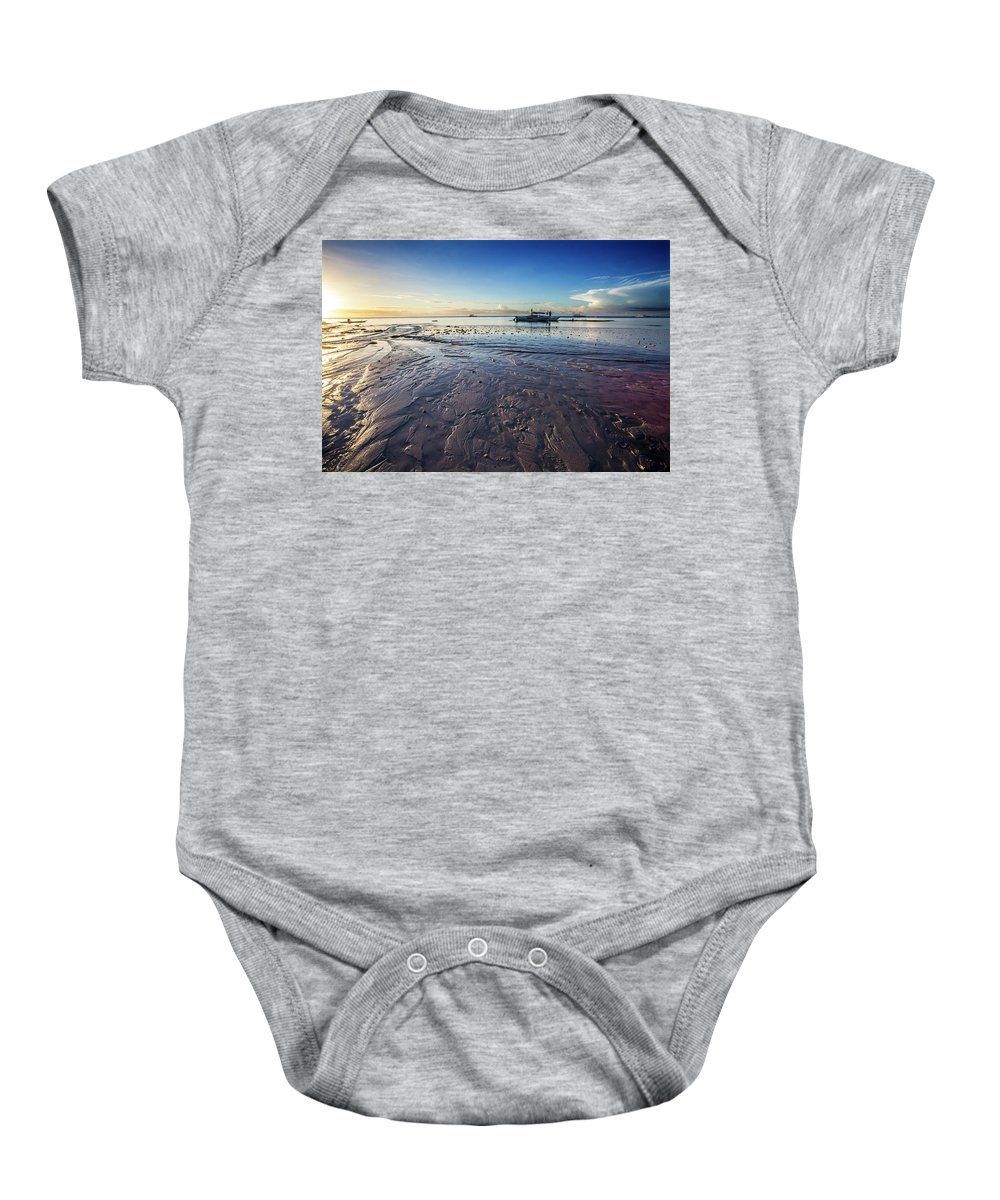 Landscape Baby Onesie featuring the photograph Landscape Series 15 by George Cabig