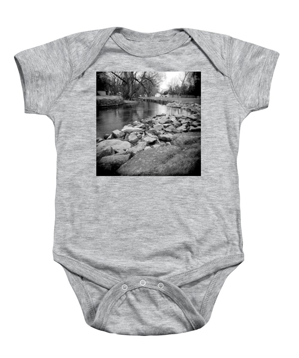 Photograph Baby Onesie featuring the photograph Le Tort Spring Run by Jean Macaluso